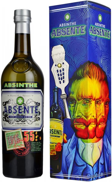 Absente Absinthe (55%) 70cl + Spoon