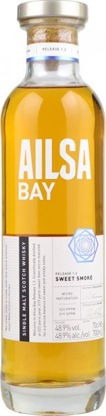 Ailsa Bay Sweet Smoke Release 1.2 Single Malt Scotch Whisky 70cl