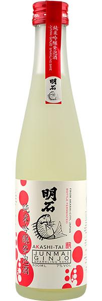Akashi-Tai Junmai Ginjo Sparkling Sake 30cl