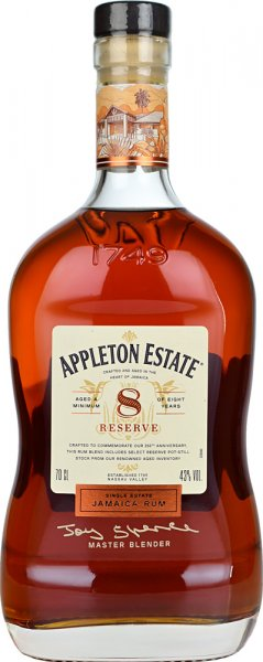 Appleton Estate 8 Year Old Reserve Rum 70cl