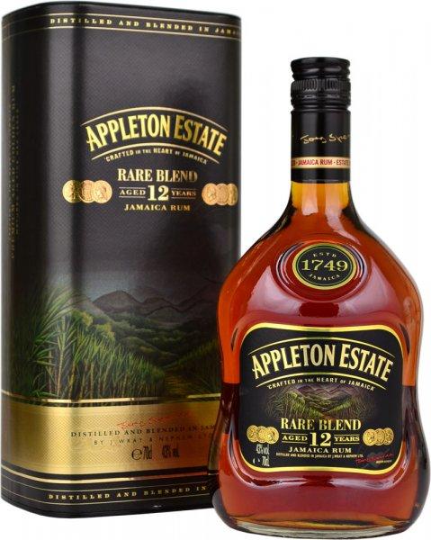 Appleton Estate Rare Blend 12 Year Old Rum 70cl