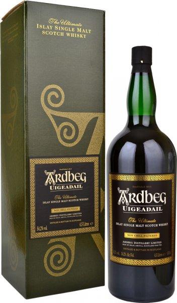 Ardbeg Uigeadail Islay Single Malt Whisky 4.5 litre