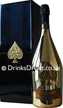 Armand de Brignac Brut Gold NV Jeroboam (3 litre) in Branded Box