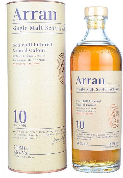 Arran 10 Year Old Single Malt Scotch Whisky 70cl