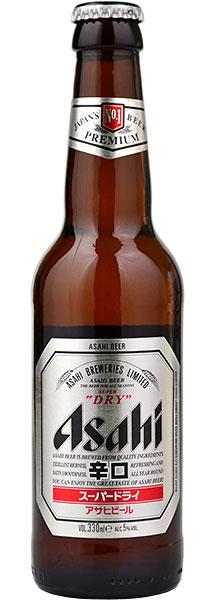 Asahi Premium Beer 330ml Bottle