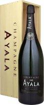 Ayala Brut Majeur NV Champagne Jeroboam (3 litre) in Wood Box