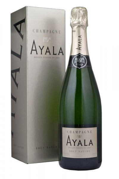 Ayala Brut Nature (Zero Dosage) NV Champagne 75cl in Branded Box