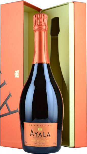 Ayala Cuvee Rose Nature (Zero Dosage) NV Champagne 75cl in Box