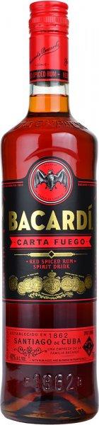 Bacardi Carta Fuego Rum 70cl
