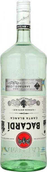 Bacardi White Rum 1.5 litre (bar bottle)