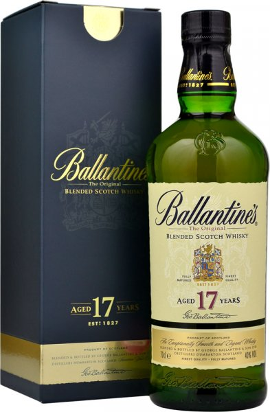 Ballantines 17 Year Old Blended Scotch Whisky 70cl