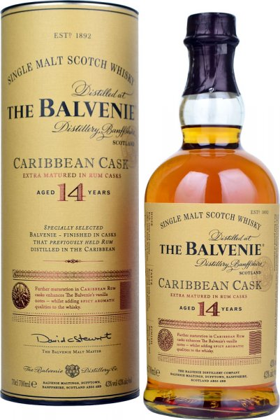 Balvenie Caribbean Cask 14 Year Old 70cl