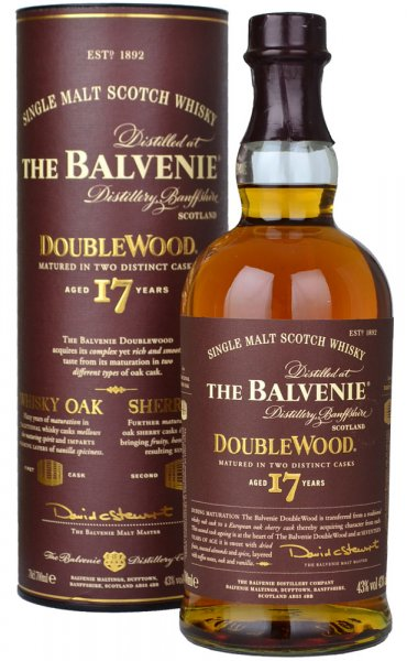 Balvenie Doublewood 17 Year Old 70cl
