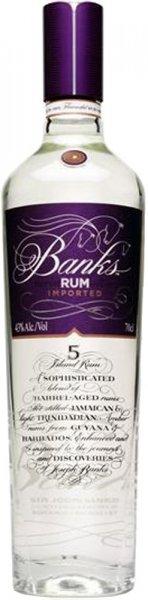 Banks 5 Island White Rum 70cl