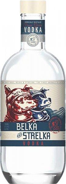 Belka and Strelka Vodka 70cl