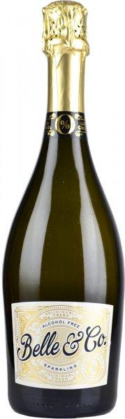 Belle & Co Alcohol Free Sparkling Wine Brut 75cl