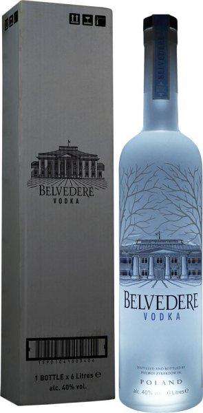 Belvedere Pure Vodka 6 litre (Illumination Bottle)