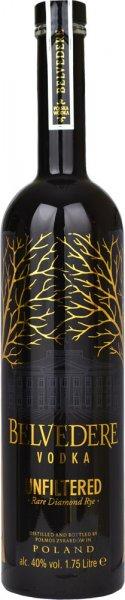 Belvedere Unfiltered Vodka (Diamond Rye) Magnum / 1.75 litre