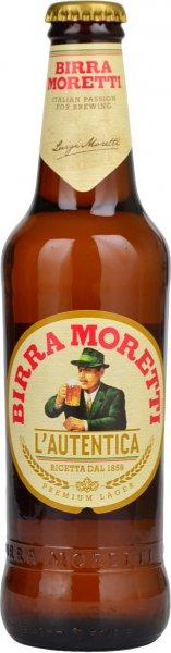 Birra Moretti Premium Lager 330ml Bottle