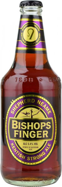 Bishops Finger Strong Ale (Shepherd Neame) 500ml Bottle