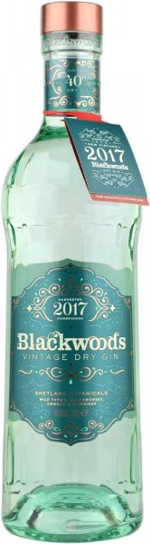 Blackwoods Vintage Dry Gin 40% 2017 70cl