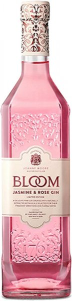 Bloom Jasmine and Rose Gin 70cl