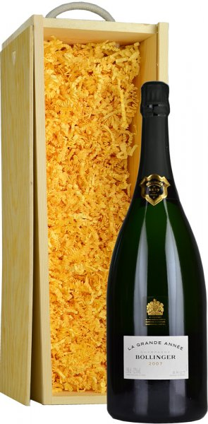 Bollinger Grande Annee 2007 Champagne Magnum (1.5 ltr) in Wood Box