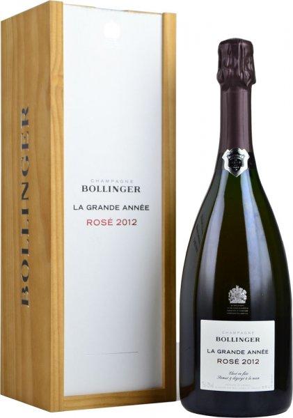 Bollinger La Grande Annee Rose Champagne 2012 75cl in Branded Box
