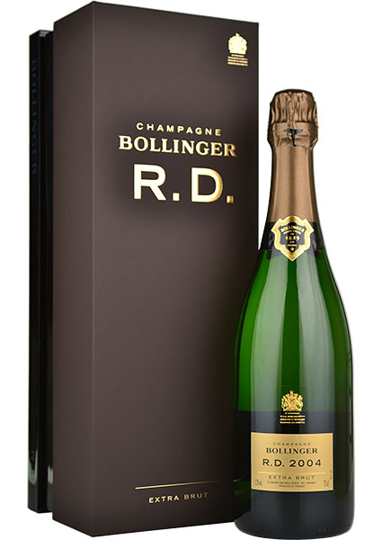 Bollinger RD 2004 Champagne 75cl in Branded Box
