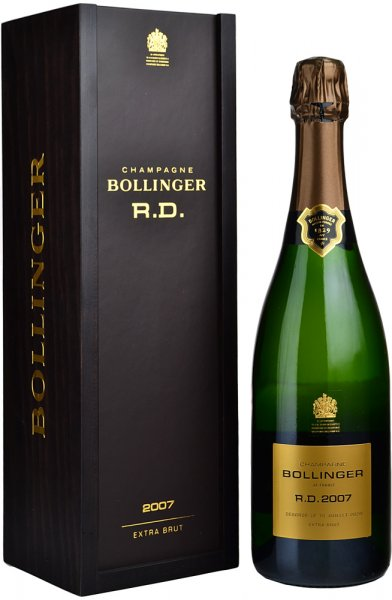 Bollinger RD 2007 Champagne 75cl in Wood Box