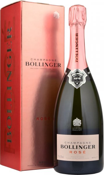 Bollinger Rose NV Champagne 75cl in Branded Box