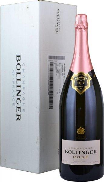 Bollinger Rose NV Champagne Jeroboam (3 litre)