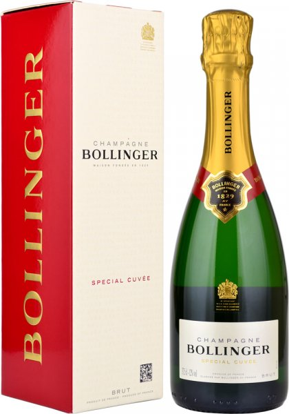 Bollinger Special Cuvee NV Champagne 37.5cl in Branded Box
