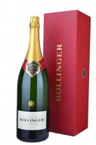 Bollinger Special Cuvee NV Champagne Jeroboam (3 litre) in Red Wood Box