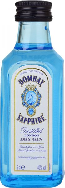 Bombay Sapphire London Dry Gin Miniature 5cl