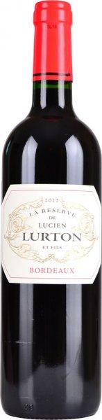 Bordeaux La Reserve de Lucien Lurton Red 2017 75cl