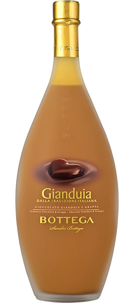 Bottega Gianduia - Chocolate & Hazelnut Cream Liqueur 50cl