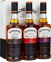 Bowmore Classic Collection Gift Pack 3 x 20cl
