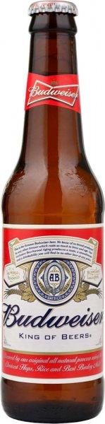 Budweiser Beer 330ml Bottle