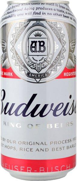 Budweiser Beer 440ml CAN