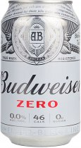 Budweiser Zero Alcohol Free Beer 330ml Can
