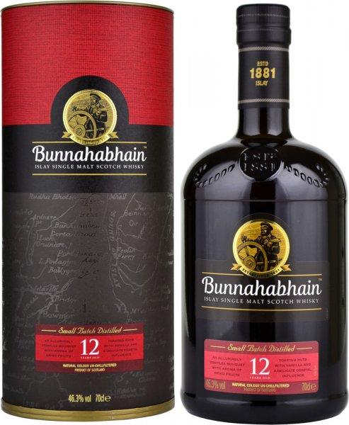 Bunnahabhain 12 Year Old (46.3%) 70cl