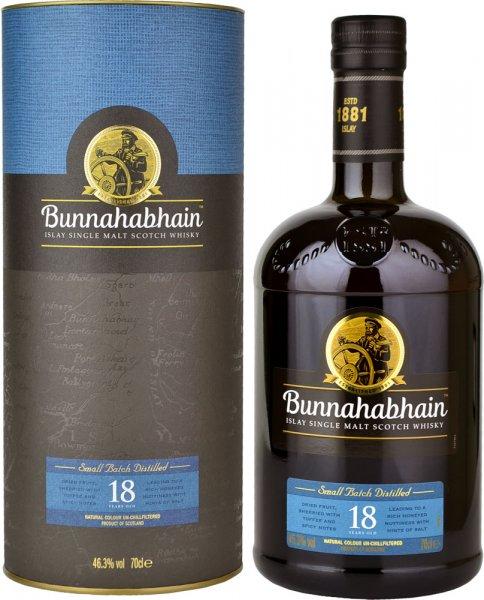 Bunnahabhain 18 Year Old (46.3%) 70cl
