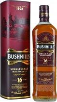 Bushmills 16 Year Old Single Malt Irish Whiskey 70cl