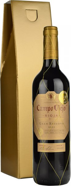 Campo Viejo Gran Reserva 75cl in Gold Gift Box