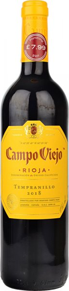 Campo Viejo Tempranillo Rioja 2018/2019 75cl