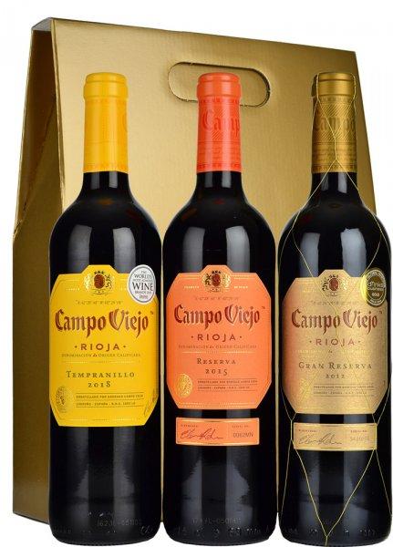 Campo Viejo Three Bottle Gift Set