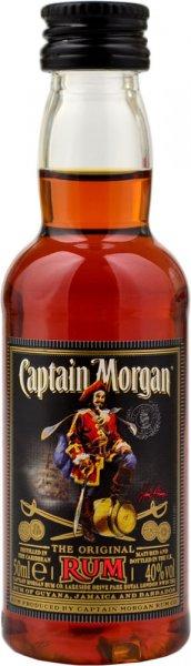 Captain Morgan Dark Rum Miniature 5cl