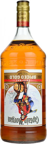 Captain Morgan Spiced Gold Rum 1.5 litre