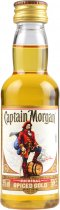 Captain Morgan Spiced Gold Rum Miniature 5cl